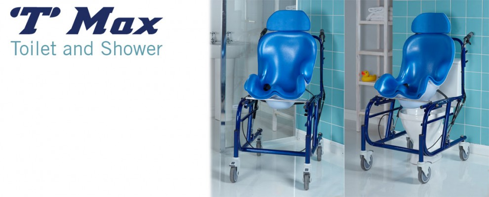 T Max Toilet and Shower Seat | Custom moulded toilet and shower seating | Bathroom mobility | Continence management for children and adults | Specialised Orthotic Services | SOS