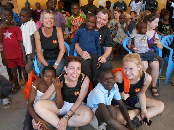 uganda volunteering 2013 McQuiltons visit orphanage specialised orthotic services SOS