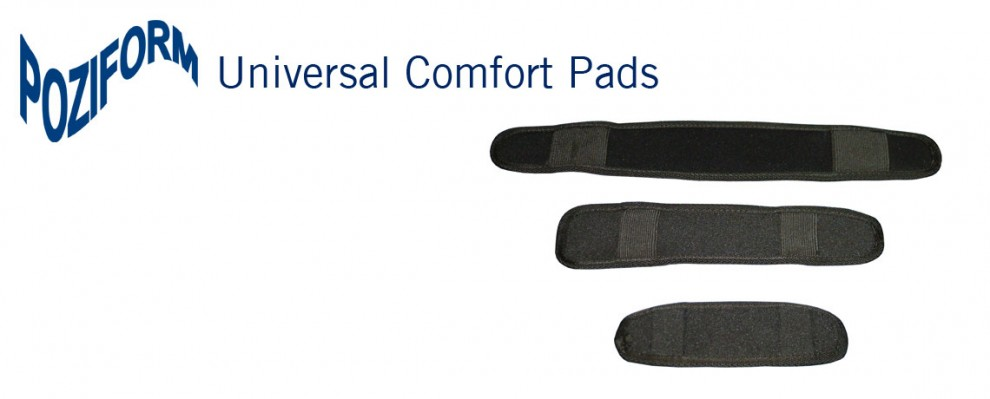 Poziform Universal Pads | Wheelchair Seat Belt Pads | Universal wheelchair comfort pads | Specialised Orthotic Services | SOS