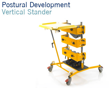 Vertical Stander | Postural Development Standing Aid with Activity Tray | Specialised Orthotic Services | SOS