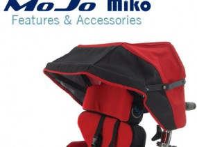 SOS Wheelchair bases accessories and optional features. MoJo and Miko