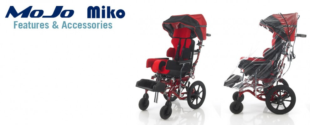 Specialised Orthotic Services Wheelbase accessories and features SOS